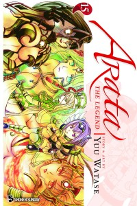 ARATA THE LEGEND TP VOL 15