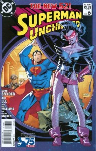 SUPERMAN UNCHAINED #6 75TH ANNIV VAR ED MODERN AGE