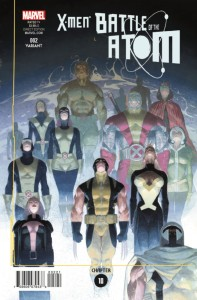 X-MEN BATTLE OF ATOM #2 (OF 2) RIBIC VAR BOA