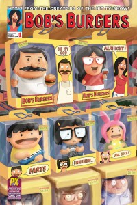 SDCC 2015 BOBS BURGERS ONGOING #1