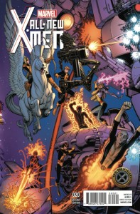 ALL NEW X-MEN #20 50TH ANNIVERSARY ART ADAMS VAR