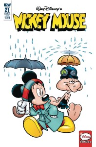 MICKEY MOUSE #21 SUBSCRIPTION VAR