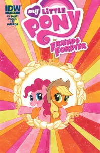 MY LITTLE PONY FRIENDS FOREVER #1 RI COVER
