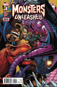 MONSTERS UNLEASHED #4 (OF 5)