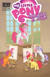 MY LITTLE PONY FRIENDSHIP IS MAGIC #22 RI VARIANT