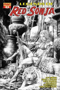 LEGENDS OF RED SONJA #1 (OF 5) REORDER ED