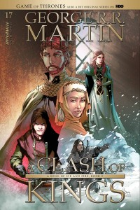 GAME OF THRONES CLASH OF KINGS #17 CVR B RUBI