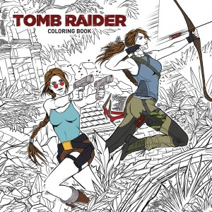 TOMB RAIDER COLORING BOOK TP