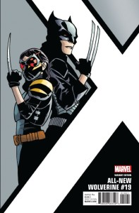 ALL NEW WOLVERINE #19 KIRK CORNER BOX VAR