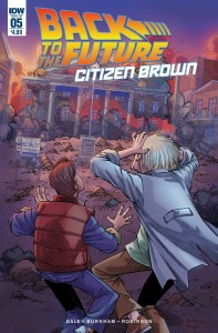 BACK TO THE FUTURE CITIZEN BROWN #5 (OF 5)