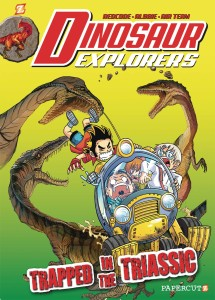 DINOSAUR EXPLORERS GN VOL 04 TRAPPED IN THE TRIASSIC
