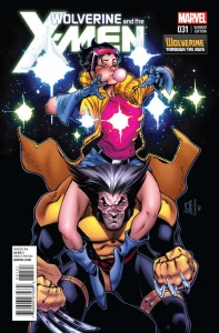 WOLVERINE AND X-MEN #31 STEGMAN WOLVERINE VAR