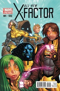 ALL NEW X-FACTOR #1 WARREN VAR