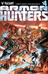 ARMOR HUNTERS #4 (OF 4) COVER A BRAITHWAITE (AH)