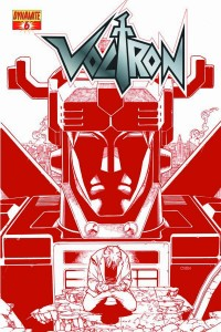 VOLTRON #6 20 COPY CHEN RED INCV