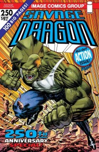 SAVAGE DRAGON #250 2ND PTG