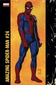 AMAZING SPIDER-MAN #24 JUSKO CORNER BOX VAR