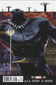 ALL NEW X-MEN #12 SANTIAGO BLACK PANTHER VAR