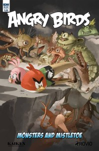ANGRY BIRDS COMICS QUARTERLY CVR B SANDOVAL