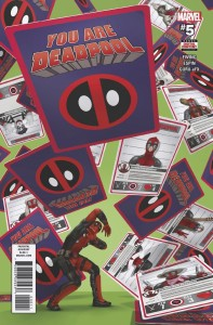 YOU ARE DEADPOOL #5 (OF 5)