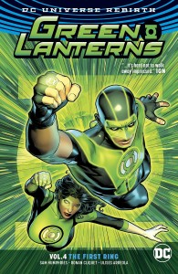 GREEN LANTERNS TP VOL 04 THE FIRST RINGS (REBIRTH)