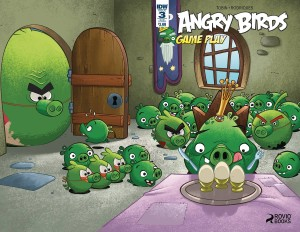 ANGRY BIRDS COMICS GAME PLAY #3 SUBSCRIPTION VAR