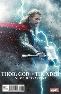THOR GOD OF THUNDER #13 MOVIE VAR