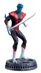 MARVEL CHESS FIG COLL MAG #37 NIGHTCRAWLER WHITE PAWN