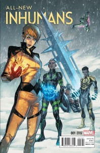 ALL NEW INHUMANS #1 CASELLI VAR