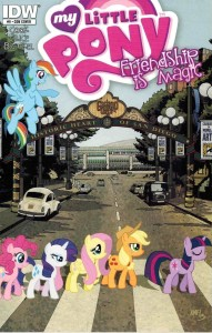 SDCC 2013 MY LITTLE PONY FRIENDSHIP IS MAGIC #9 BEATLES ABBEY ROAD VAR