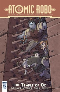 ATOMIC ROBO AND THE TEMPLE OF OD #5 (OF 5)