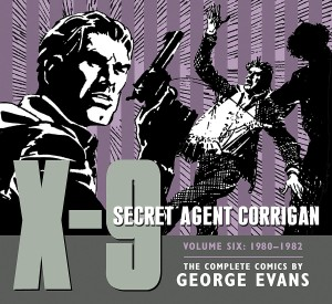 X-9 SECRET AGENT CORRIGAN HC VOL 06