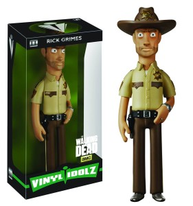 VINYL IDOLZ WALKING DEAD RICK GRIMES VINYL FIG