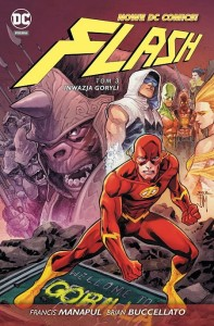Nowe DC Comics Flash Tom 3 Inwazja goryli