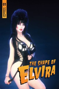 ELVIRA SHAPE OF ELVIRA #1 SGN PHOTO VAR