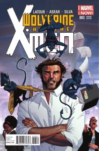 WOLVERINE AND X-MEN #3 MOLINA VAR
