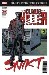 HUNT FOR WOLVERINE CLAWS OF KILLER #1 (OF 4) GUICE 2ND PTG