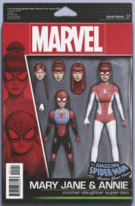 AMAZING SPIDER-MAN RENEW YOUR VOWS #1 CHRISTOPHER ACTION FIGURE VAR