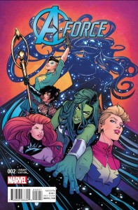 A-FORCE #2 JONES VAR