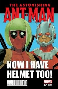 ASTONISHING ANT-MAN #4 NOTO DEADPOOL VAR
