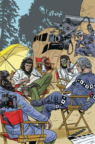 PLANET OF APES SIMIAN AGE #1 ALLRED VAR