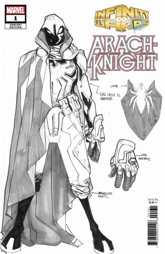 INFINITY WARS ARACHKNIGHT #1 (OF 2) RAMOS DESIGN VAR