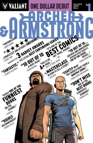 ARCHER & ARMSTRONG #1 ONE DOLLAR DEBUT ED NEW PTG