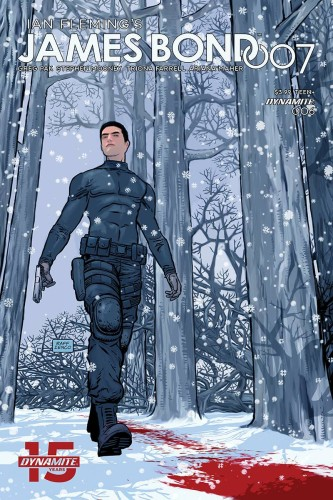 JAMES BOND 007 #6 CVR D MOONEY