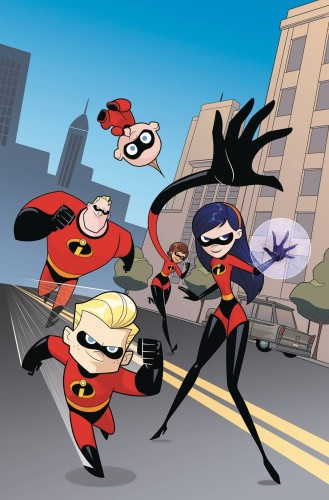 DISNEY INCREDIBLES 2 SECRET IDENTITIES #3 (OF 3) CVR B KAWAII CREATIVE STUDIO