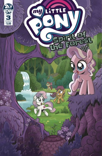 MY LITTLE PONY SPIRIT OF THE FOREST #3 (OF 3) CVR A HICKEY