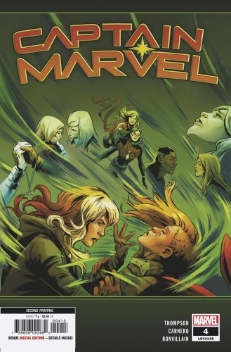 CAPTAIN MARVEL #4 2ND PTG CARNERO VAR