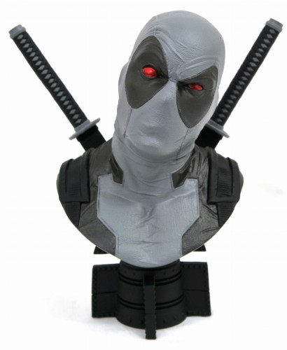 SDCC 2019 MARVEL LEGENDS 3D X-FORCE DEADPOOL 1/2 SCALE BUST