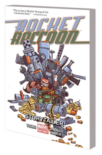 ROCKET RACCOON TP VOL 02 STORYTAILER