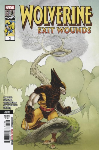 WOLVERINE EXIT WOUNDS #1 2ND PTG KEITH VAR